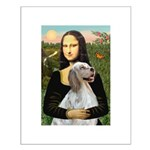Mona's English Setter Small Poster
