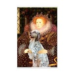 Queen / English Setter Mini Poster Print