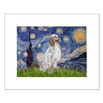 English Setter / Starry Night Small Poster