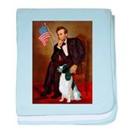 Lincoln / Eng Springer baby blanket