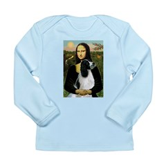 Mona Lisa/English Springer Long Sleeve Infant T-Sh