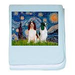 Starry / 2 Eng Springe baby blanket
