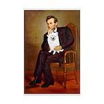 Lincoln / Eskimo Spitz #1 Mini Poster Print