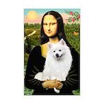 Mona / Eskimo Spitz #1 Mini Poster Print