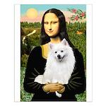 Mona / Eskimo Spitz #1 Small Poster