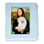 Mona / Eskimo Spitz #1 baby blanket