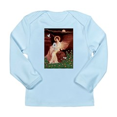 Angel / Eskimo Spitz #1 Long Sleeve Infant T-Shirt