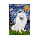 Starry / Eskimo Spitz #1 Mini Poster Print
