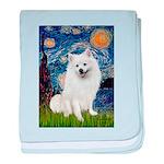 Starry / Eskimo Spitz #1 baby blanket