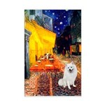 Cafe / Eskimo Spitz #1 Mini Poster Print