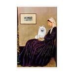 Whistlers / Eskimo Spitz #1 Mini Poster Print