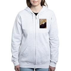 Whistlers / Eskimo Spitz #1 Women's Zip Hoodie