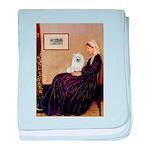 Whistlers / Eskimo Spitz #1 baby blanket