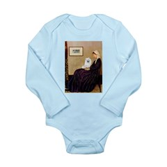 Whistlers / Eskimo Spitz #1 Long Sleeve Infant Bod