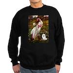 Windflowers / Eskimo Spitz #1 Sweatshirt (dark)