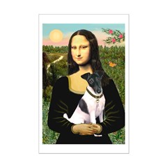 Mona's Smooth Fox Terrier (Bl Mini Poster Print