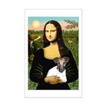 Mona & Fox Terrier Mini Poster Print