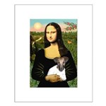 Mona & Fox Terrier Small Poster