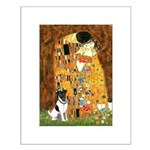 Kiss / Fox Terrier Small Poster