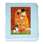 Kiss / Fox Terrier baby blanket