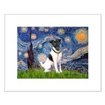 Starry / Fox Terrier (#1) Small Poster
