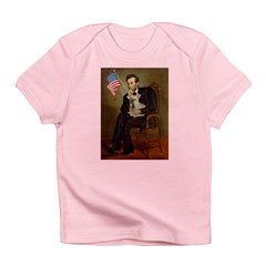 Lincoln/French Bulldog Infant T-Shirt