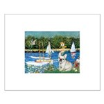 Sailboats / Fr Bulldog(f) Small Poster