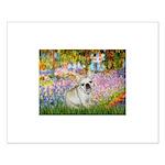 Garden / Fr Bulldog(f) Small Poster