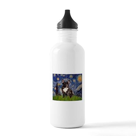 Starry / Fr Bulldog(brin) Stainless Water Bottle 1