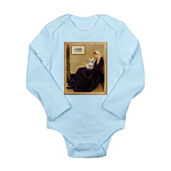 Whistlers / Fr Bull (f) Long Sleeve Infant Bodysui