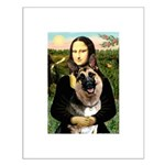Mona's G-Shepherd Small Poster