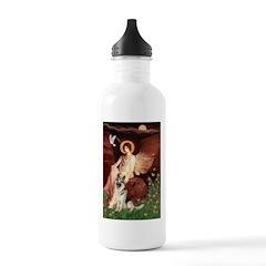 Seated Angel / G-Shepherd Stainless Water Bottle 1