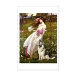 Windflowers / G-Shep Mini Poster Print