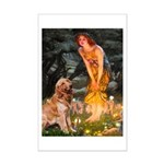 Fairies & Golden Mini Poster Print