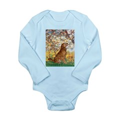 Spring & Golden (#12) Long Sleeve Infant Bodysuit