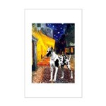 Cafe / Gr Dane (h) Mini Poster Print