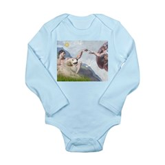 Creation / Gr Pyrenees Long Sleeve Infant Bodysuit