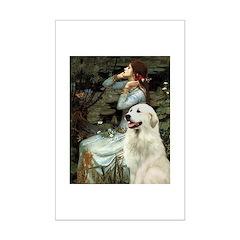 Ophelia / Gr Pyrenees Mini Poster Print