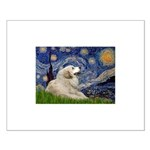 Starry / Gr Pyrenees Small Poster