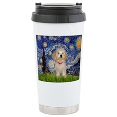Starry / Havanese Ceramic Travel Mug