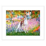 Garden / Ital Greyhound Small Poster