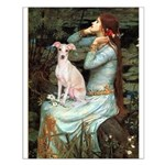 Ophelia / Italian Greyhound Small Poster