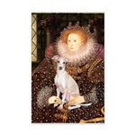 Queen / Italian Greyhound Mini Poster Print
