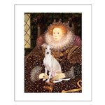 Queen / Italian Greyhound Small Poster