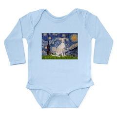 Starry Night / Ital Greyhound Long Sleeve Infant B