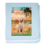 Garden Fiorito/ Spinone baby blanket