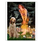 Fairies/ Italian Spinone Small Poster