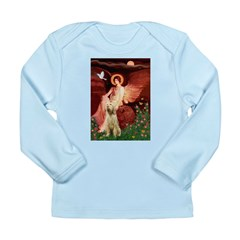 Seated Angel /Italian Spinone Long Sleeve Infant T