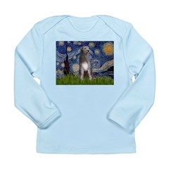 Starry/Irish Wolfhound Long Sleeve Infant T-Shirt
