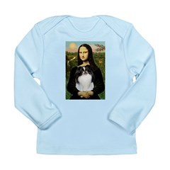 Mona Lisa/Japanese Chin Long Sleeve Infant T-Shirt